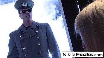 Russian Kosmonaut Nikita gets a gag order from her general thumbnail