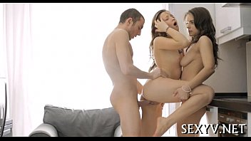 Virgin Bawdy Cleft Licked And Gangbanged