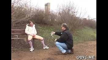 Pungent brunette Cathy gets wrecked