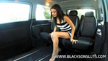 Black Taxi Driver Pounds Alicia Poz
