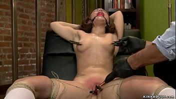 therapist anal fucks bound campus girl