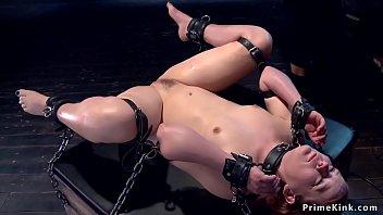 Slave In Device Bondage Gets Vibrated