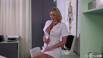 Busty Lovers Wanna Be Cured By Doctor Leigh Darby At The Hot Milf Clinic