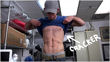 FUCK YOU CRACKER - New Hiree Toby Showing Off His Abs, Gets Big Black Dick In His Ass