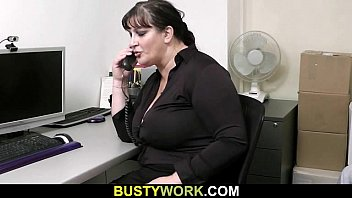 He seduces busty bitch into cock riding