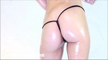 Oily breasts videos Oily booty shaking by carmen valentina