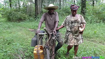 He is the only palm wine tapper in the community and all the village women want to fucked him because of his Palm wine(Patricia 9ja)