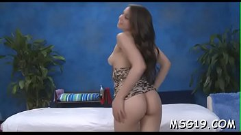 Girl with nice  arse gives massage age