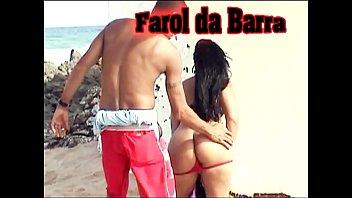 Sucking the Cove of an Unknown at Farol da Barra in Salvador