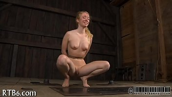 Cutie tears up during punishment
