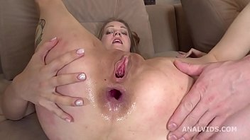 Amanda Clarke 2on1 Balls Deep Anal, DP, Gapes, Rough Sex and Swallow GL193 87 sec