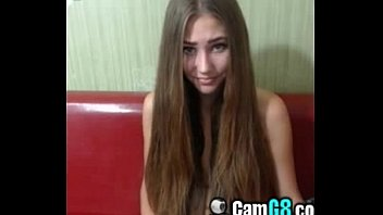 SEXY Long Haired Chick Flashes Tits on Cam - camg8