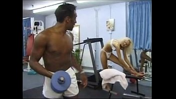 Asian women gyms uk Omar fucks a shameless english blonde at the gym