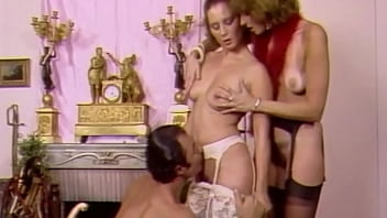 Anna Fischer vintage blowjob at the photo shooting