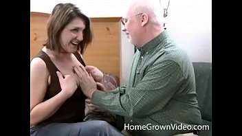 Older amateur videos - Older lisa sucks and fucks grandpas cock