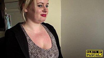 British BDSM slut spanked and dominated