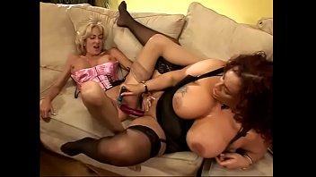 Milf Gina De Palma puts a vibrator in her friend's pussy