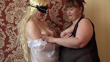 Milf in early pregnancy and her fat mature girlfriend jump on a rubber dick and shake juicy asses. Lesbians.