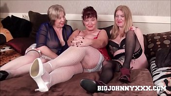 3 Hot Busty Dirty British Grannys Suck & Fuck Young Toyboy! Hardcore XXX Bareback Action! Big Facial! 13分钟