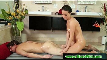 Nuru Slippery Massage And Wet Handjob 22
