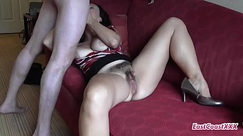 Brooke Bennett Hairy MILF Creampie