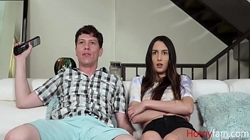 Sister Fucks Me To Watch TV- Natalia Nix
