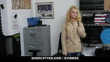 ShopLyfter - Tiny Shoplifter (Sadie Hartz) Punished With Big Cock