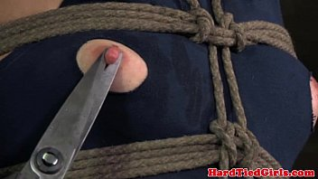 Crotchrope bondage movies Crotch rope bondage sluts dress cut off