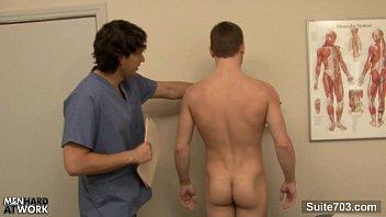 Gay doctor gropes patient Naughty doctor fuck his patient