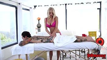 Katie morgan on sex toys movie - Hot masseuse katie morgan seduces her client