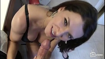 Leena Sky In Step-Mom Fucks Son While Talking To Dad