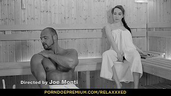 RELAXXXED - Busty Russian babe Angel Rush banged hardcore in the sauna 8 min