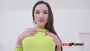 Nataly Gold insane 5on1 fuck session with her first TAP, DAP & 0% pussy fucking SZ2306