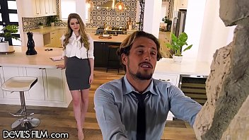 DevilsFilm Tyler Nixon Bangs Bunny Colby's Hairy Pussy While Visiting A House