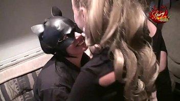 Lesbian threesome with final raid 35 min