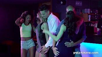 Private.com Rachel Adjani, Alice Fabre & Scarlet BCN Do Orgy