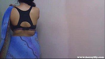 Indian Teacher Lily Role Play Masturbation thumbnail
