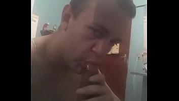 Chupando uber Hetero de cumbica
