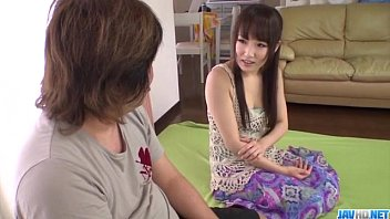 Ai Mizushima removes panties for a nice fuck from behind