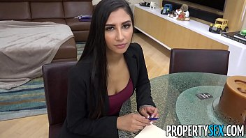 PropertySex – Hot real estate agent cheats on boyfriend to land real estate deal