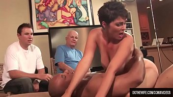 MILF Wife Charlie James Fucks a Black Guy in Front of Her Husband