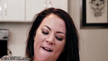 DevilsFilm Kenzie Madison Wants This Hot Pussy In The Kitchen So Bad