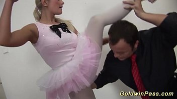 flexible ballerina gets fisted 12 min