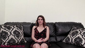 20 year old amateur goes anal at porn casting 16 min