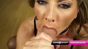 POV blowjob with UK MILF pornstar Lynda Leigh