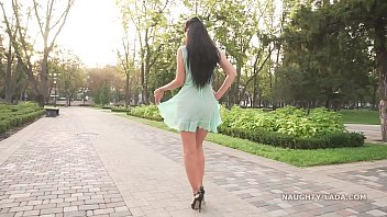 See-through outfit and high heels 6分钟