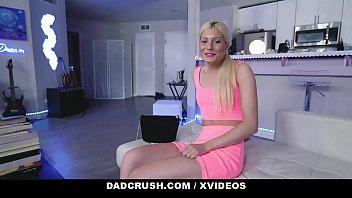 DadCrush - Blonde Stepdaughter (Nella Jones) Fucks Her Dad