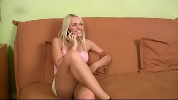 Sweet blonde fucked in many Positions