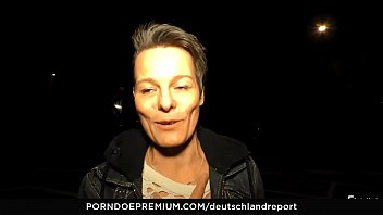 DEUTSCHLAND REPORT - Naughty German pickup and fuck with horny mature amateur Sandra