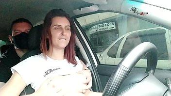 driving as uber through the streets of the center of porto alegre - Pernocas - Odin Gaucho
